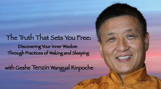 New workshop with Tenzin Wangyal Rinpoche begins September 30, 2017