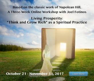 New Living Prosperity Workshop begins October 21, 2017