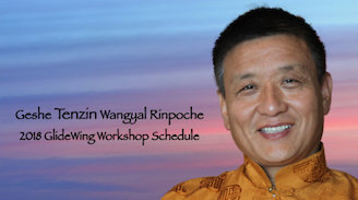 Announcing Tenzin Wangyal Rinpoche's 2018 GlideWing Workshop Schedule